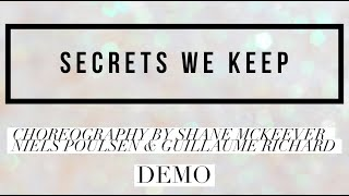 SECRETS WE KEEP line dance, choreography by Shane McKeever, Niels Poulsen & Guillaume Richard