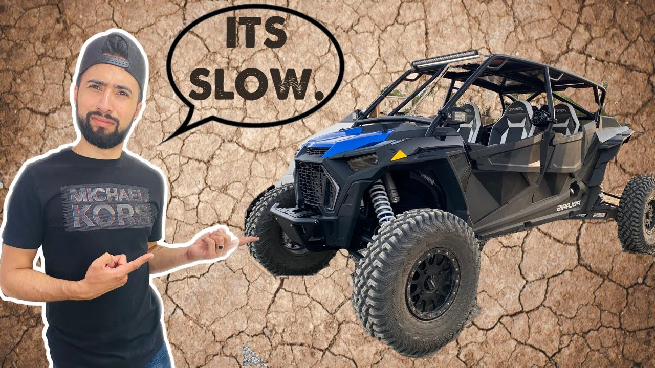 Taking my Brothers RZR for a RIDE!! *DID IT BREAK DOWN?*
