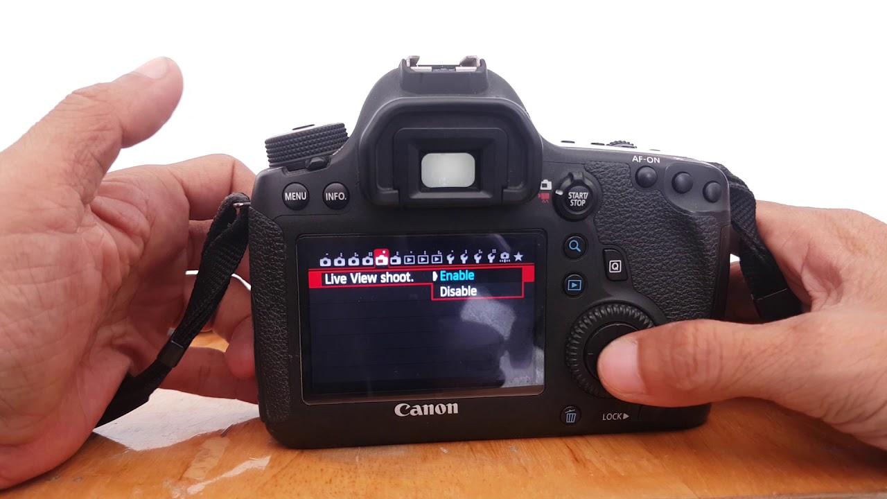 Thiết lập máy ảnh DSLR cho người mới sử dụng   Camera settings for the new user