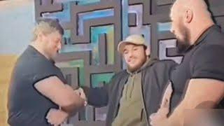 Чеченцы схватили Чоршанбе в момент нападения. Чоршанбе сразу стал не такой дерзкий