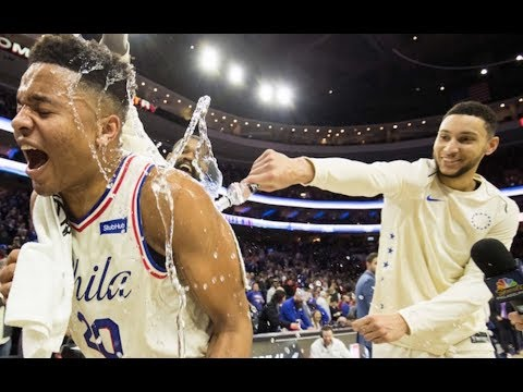 Markelle Fultz YOUNGEST Player with TRIPLE-DOUBLE in NBA ...