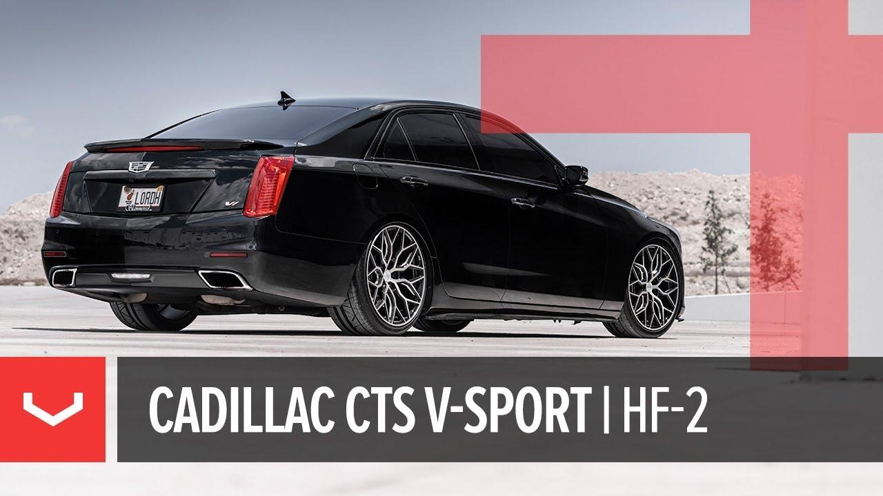 Vossen Hybrid Forged Hf 2 Wheel Cadillac Cts V Sport