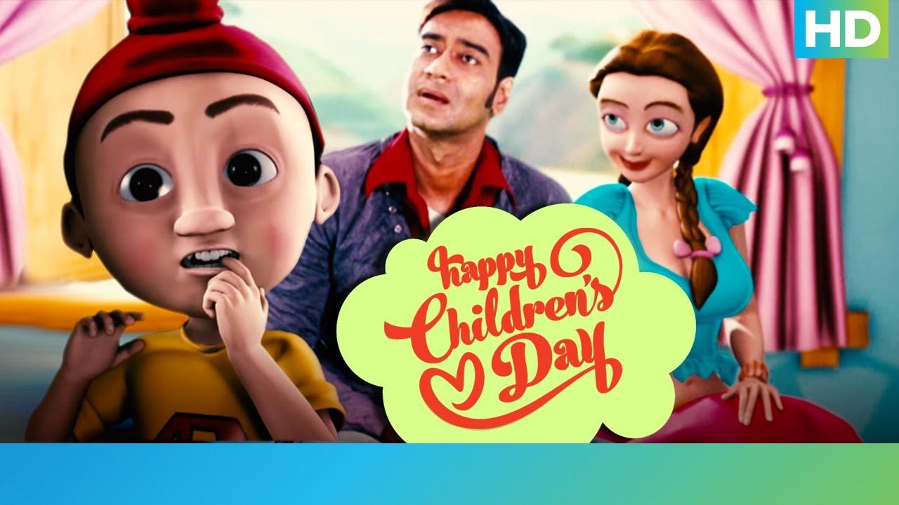 Download Toonpur Ka Superrhero - Children's Day 2020 |  Ajay Devgn & Kajol