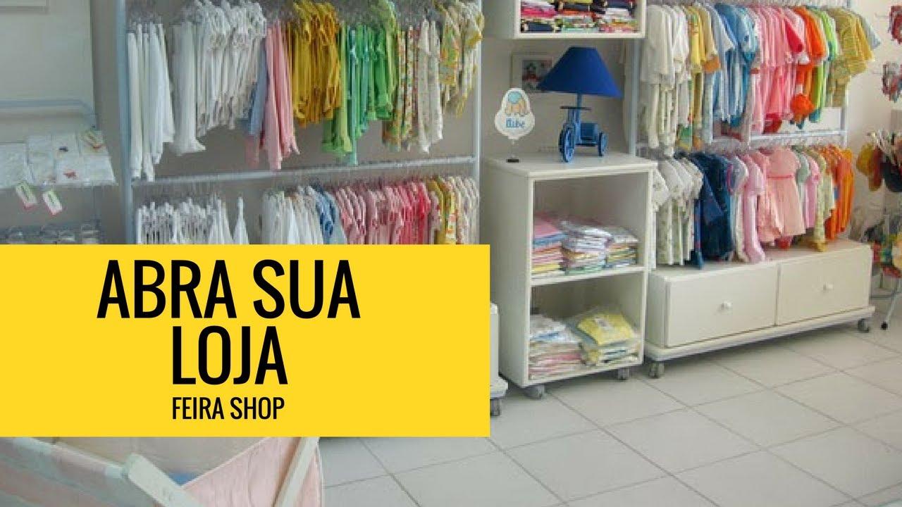 Abra sua loja infantil Feira Shop YouTube