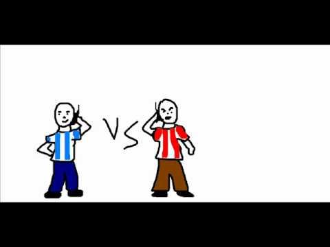 Argentino VS Paraguayo (pelea radial).