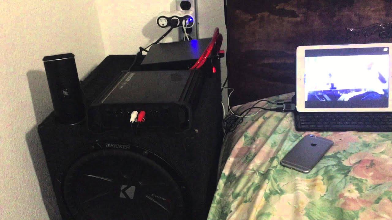 Car audio en casa no profesional youtube for Stereo casa