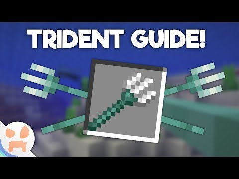 Update Aquatic TRIDENT GUIDE!   Enchantments, Obtaining, and more!