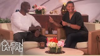 Adewale Akinnuoye-Agbaje Strangest Fan Encounter  The Queen Latifah Show