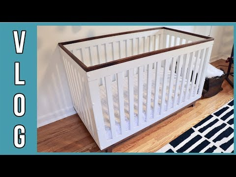 How to Build a 3-in-1 Convertible Crib - VLOG