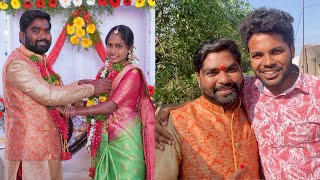 My village show Chandu engagement | anil geela vlogs | marriage | Telugu vlog