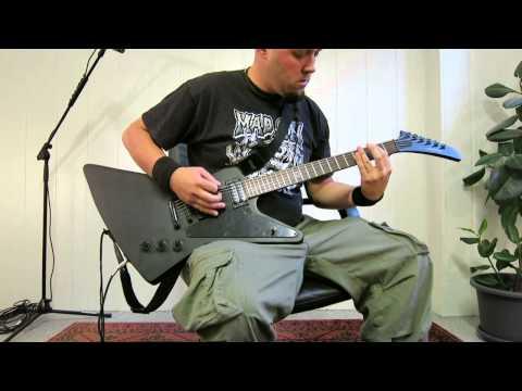 Bone Breaker - Original Song - Metal Guitar Tracking with Guitarix on Linux
