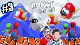 Karim Bajo el Agua | Super Mario en Human Fall Flat | Juegos Karim Juega