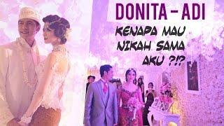 BERITA HOT !! ALASAN DONITA MAU NIKAHI ADI NUGROHO - video kawin  | VLOG indonesia HD