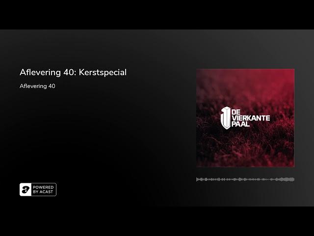 Aflevering 40: Kerstspecial