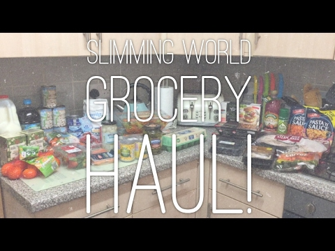 SLIMMING WORLD GROCERY HAUL | ALDI & ICELAND!