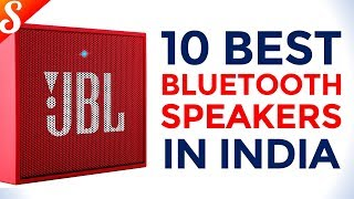10 Best Bluetooth Speakers in India with Price
