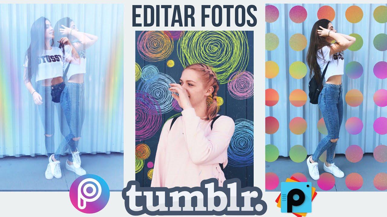 Efectos tumblr que puedes hacer con la app de picsart for Editar fotos efectos