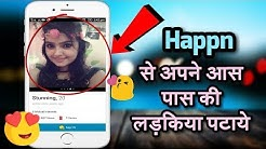 How To Use Happn Dating App | Download Happn App For Android | Cross Path Happen Dating App