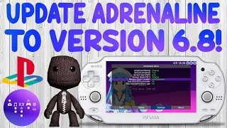 PS Vita Adrenaline Version 6.8 Released! NEW Features & Fixes!