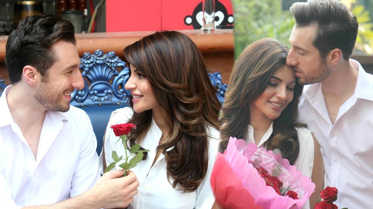 Maaya Web Series Actress Shama Sikander Valentine's Day Special Celebration