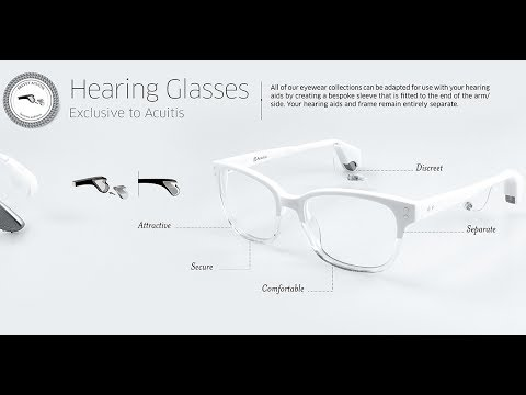 Exclusive to Acuitis: Hearing Glasses - YouTube