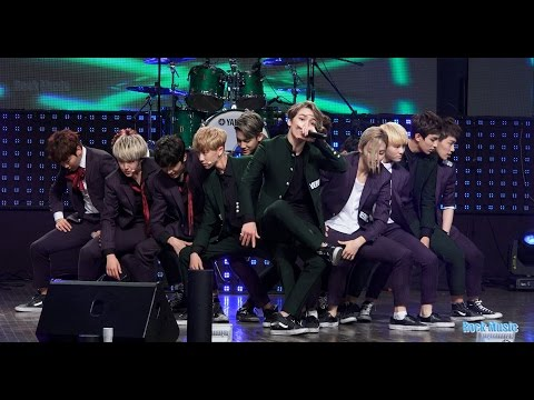 세븐틴(Seventeen)[4K직캠]Shining Diamond@20151114 Rock Music