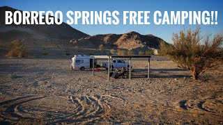 Free Camping at Ocotillo Wells SVRA & Clark Dry Lake (Borrego Springs) (202)