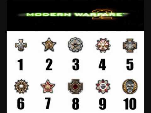 Modern Warfare 2 Prestige Emblems Youtube