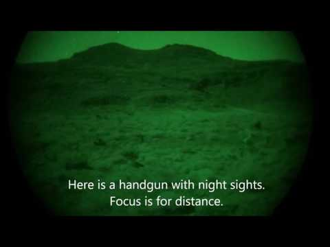 Why are IR Lasers Used for Shooting with Night Vision? Focus.