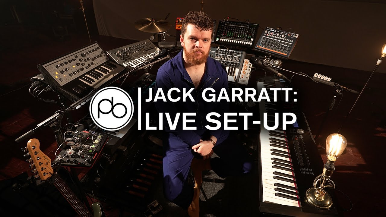 Jack Garratt: His Live Set-Up & How It Works
