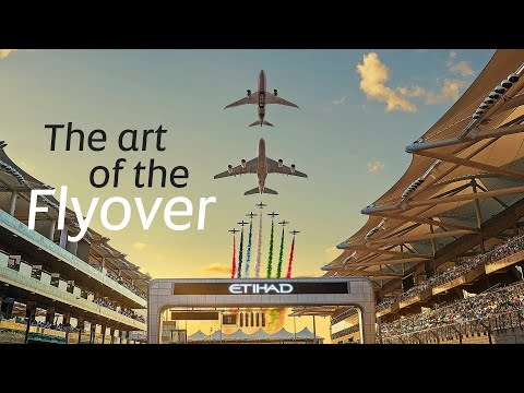 Flyover at the 2019 Formula 1 Abu Dhabi GP: Behind the Scenes | Etihad Airways