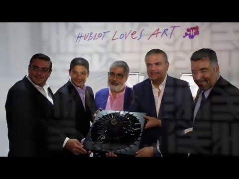 HUBLOT HONORS FRANCO-VENEZUELAN ARTIST CARLOS CRUZ-DIEZ IN MIAMI