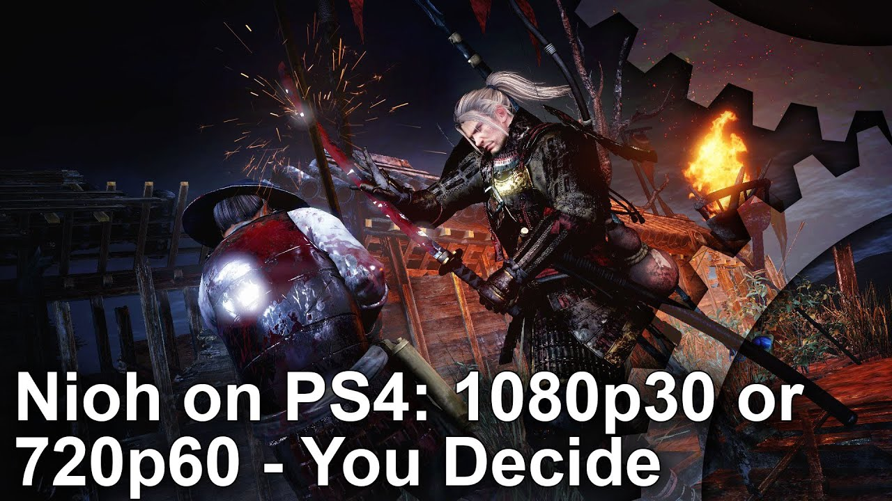Nioh on PS4: 1080p30 or 720p60 - you decide • Eurogamer net