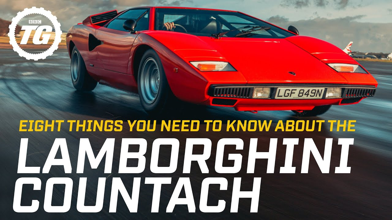 Download Eight things you need to know about the Lamborghini Countach | Top Gear