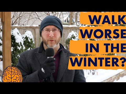 Multiple Sclerosis Walking Problems: The Impact of Winter!