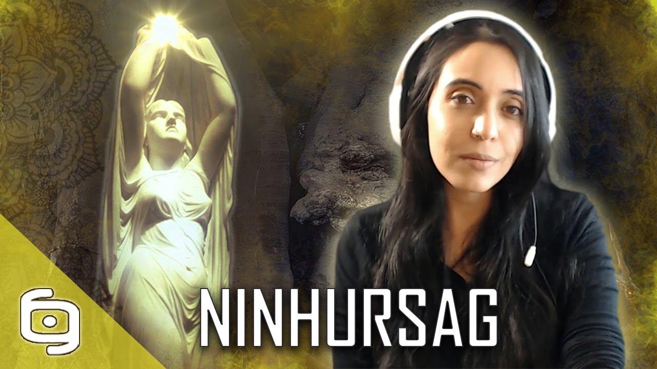 La diosa NINHURSAG de la mitología MESOPOTÁMICA