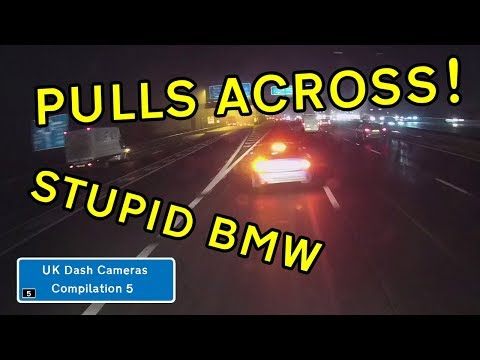 UK Dash Cameras - Compilation 5 - 2019 Bad Drivers, Crashes + Close Calls