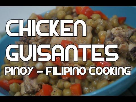Paano magluto Chicken Guisantes Recipe - Tagalog Pinoy Cooking