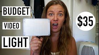 budget travel video light review