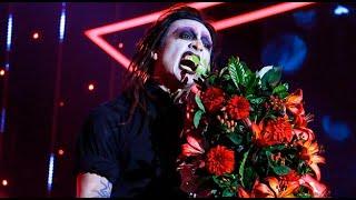 """Imitador de Marilyn Manson se conmovió al cantar """"Coma white"""" - Yo Soy"""