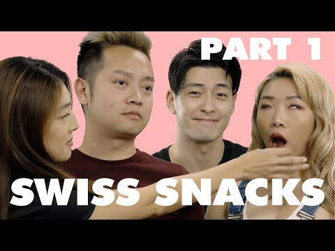 EAT Show - TRYING SWISS SNACKS (Part 1)