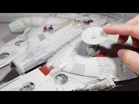 Construction complete! - Building Bandai's Perfect Grade Millennium Falcon Part 6