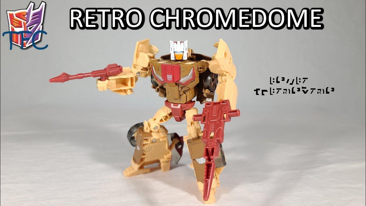 TF Collector Retro Headmaster Chromedome Review!