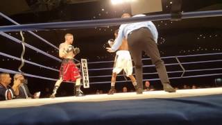 Eric Taylor vs. Kye Sabo