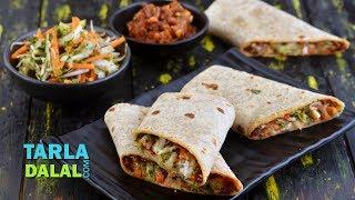 Whole Wheat Salad Wrap By Tarla Dalal