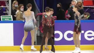 Камила Валиева ПП Разминка фрагмент II этап кубка России Москва 11 10 2020
