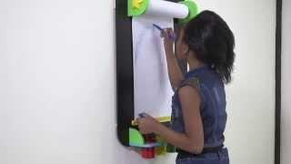 Alex Toys My Wall Easel-  Black 31nc