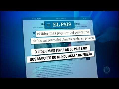 Pedido Da Prisão De Lula é Destaque Nos Jornais Internacionais