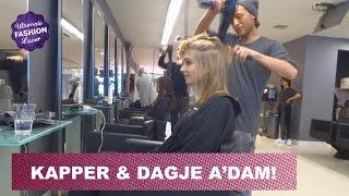 Naar de Kapper & Dagje Amsterdam | VLOGMAS #4 Thumbnail