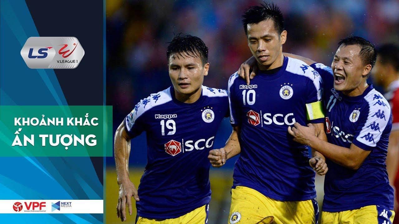 Tổng hợp những pha bóng như được lập trình của Hà Nội FC trước HAGL   VPF Media